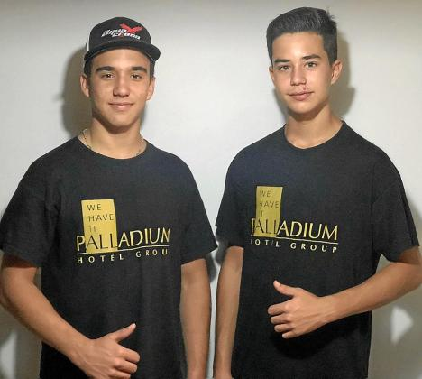 Juan Carlos Palau y Alejandro Prats, pilotos del Palladium Team.