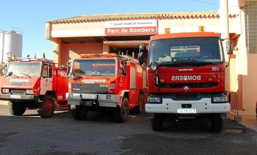 Imagen de archivo del Parque de Bomberos de Formentera en el que trabajaba el bombero que denunció el caso.
