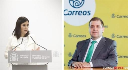 Montón y el presidente de Correos deberán comparecer en el Senado para hablar de la financiación del partido.
