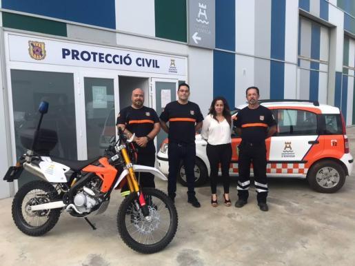 Agrupación de Protección Civil de Ibiza incorpora dos nuevos vehículos.