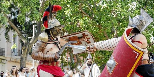 Cuatro asociaciones de recreación histórica participan en el evento: Iboshim, Antiqua Iberia, Ibercalafell y Athenae Promakos.
