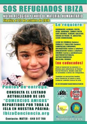 SOS Refugiados subió el pasado miércoles a su página de Facebook los detalles de la nueva campaña.