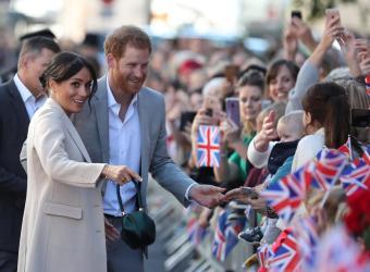 Los duques de Sussex esperan su primer bebé en 2019