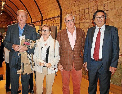 Pedro Vizcarro, Lourdes Picó, Josep Lluís Roses y Josep Vilaseca.