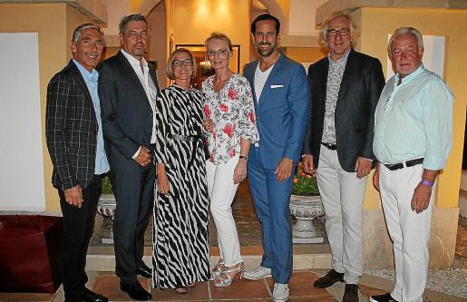 Jesús Castro, Dirk Dünkler, Cristina Pérez, Annette Marberth-Kubicki, Marcel Henneke, Bernd Jogalla y Wolfgang Kubicki.