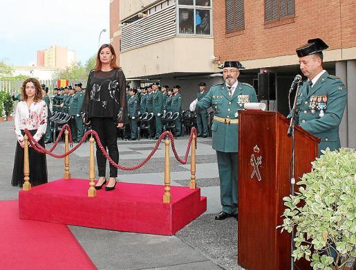 Rosario Sánchez, Francina Armengol y Jaume Barceló presidieron el acto.