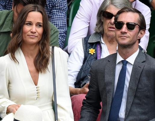 Imagen de Pippa Middleton y su marido James Matthews.