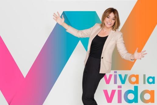 Toñi Moreno, en la campaña de promoción de 'Viva la vida'.