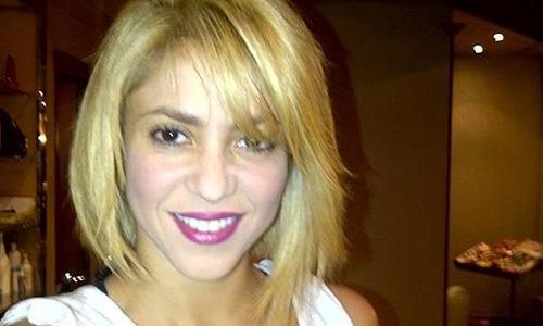Este es el nuevo aspecto de Shakira.