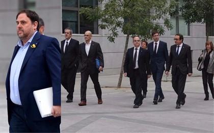 El Supremo envía a juicio a Junqueras y a otros 17 líderes en el 'procés'.