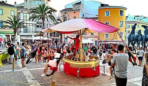La Feria de Medio Ambiente del Ajuntament de Maó fue el evento donde estrenó su carrusel.