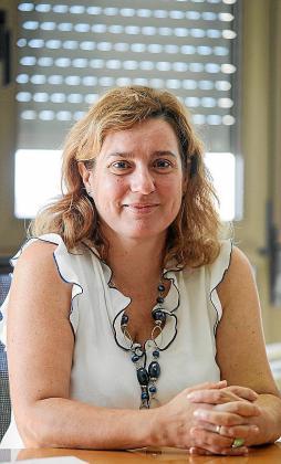 Carmen Santos, directora gerente del Área de Salud.