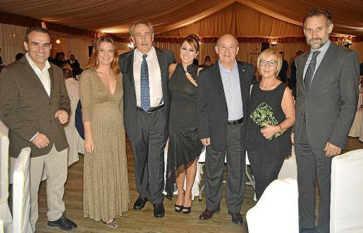 Rafel Ballester, Marga Prohens, Bartomeu Servera, Beatriz Díez, Francisco Martorell, Marga Ripoll y Toni Martorell.