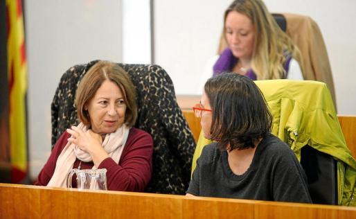 Montse García asegura que Aqualia y Valoriza acudieron a la zona cuando se conoció el problema.