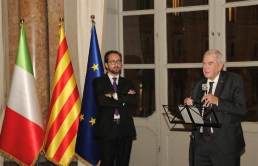 El conseller Maragall reabre la delegación del Govern en Italia.