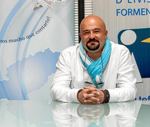 José Corraliza es el presidente de la asociación Ocio de Ibiza.