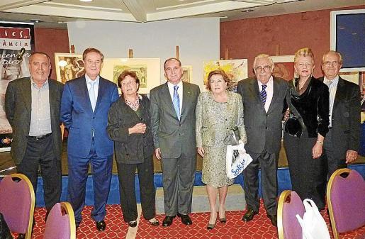 Jesús Boyero, Gabriel Escarrer, Margalida Magraner, Adolfo Orozco, Ana Mari Jaume, Pere A. Serra, Rosa María Regi y Fernando Rotger.