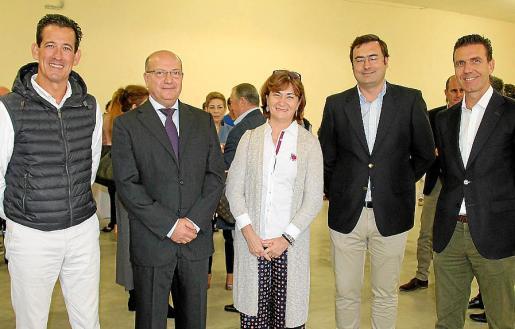 Jaime Borrás, Miquel Bastons, Maite Álvarez, Raimundo Montis y Eugenio Molina.