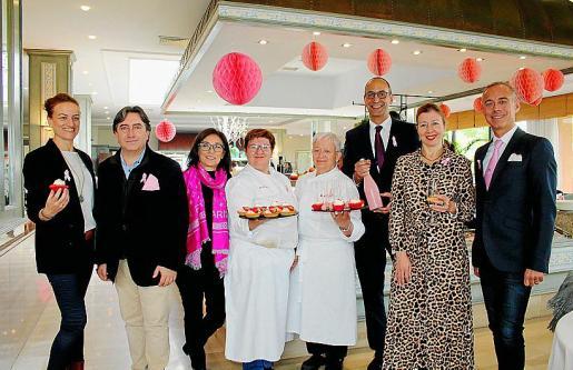 Lourdes Coll, Mauricio Rovira, Margalida Ferrando, Ana Pons, Margalida Alemany, Llorenç Bauzá, María José Frau y Max Bellán.