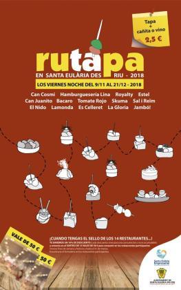 Santa Eulària acoge una nueva edición de tapas a precios populares.