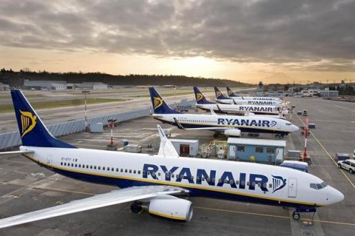 La página web de Ryanair no estará disponible durante 12 horas.