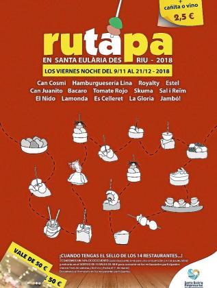 El «rutapa» vuelve a las calles de Santa Eulària.