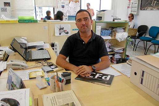 José Ramón Mateos en una imagen de archivo cuando era gerente del Consorcio Formentera Desenvolupament.
