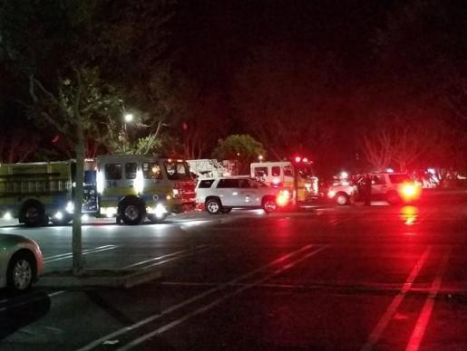 Al menos once heridos por un tiroteo en un bar cercano a Los Ángeles.