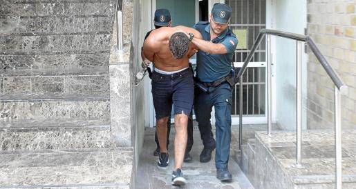 Imagen del autor del homicidio a puñetazos de un joven británico en Sant Antoni el pasado julio.