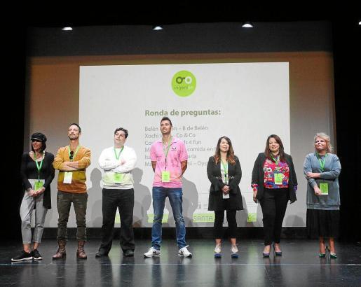 Siete emprendedores presentaron ayer sus proyectos empresariales llevados a cabo en Ibiza.