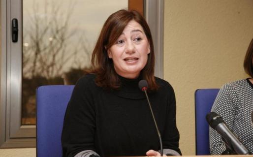 Armengol, proclamada candidata del PSIB a las elecciones autonómicas de 2019.