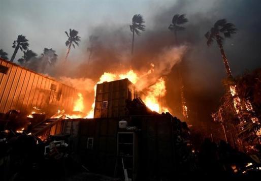 Los incendios más destructivos de la historia de California dejan ya nueve muertos y 35 desaparecidos.