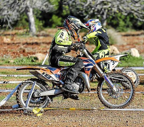 Imagen de la competición disputada ayer.