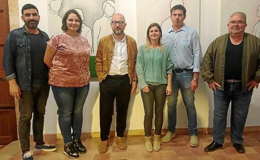 Andreu Mas, Aina Manresa, David Campaner, Agustina Sunyer, Sebastià Bonet y Julià Jaume.