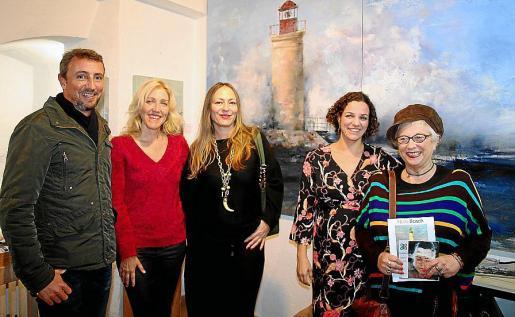 Leo Torrego, Aina Pastor, Inma Bianchi, Núria Bosch y Malen Tous.