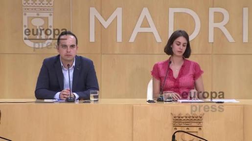 Podemos suspende de militancia a los ediles que han abandonado las primarias en Madrid.