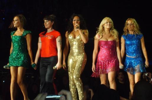 Imagen de archivo de las Spice Girls.