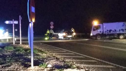 La mujer ha sido embestida por un vehículo cuando cruzaba la avenida de ses Païsses.