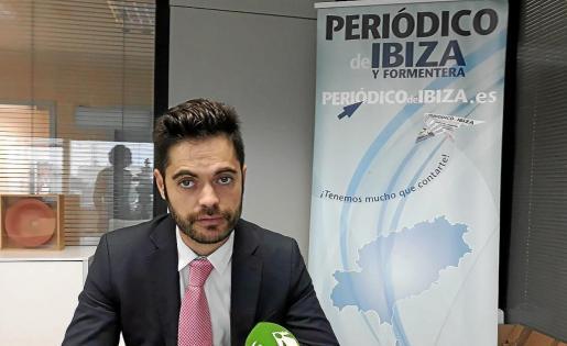 Víctor Valladares, asesor legal de la Associació Animalista de les Illes Balears (Assaib).