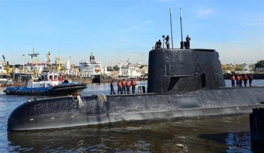 Hallan el submarino argentino ARA San Juan un año después de su desaparición.