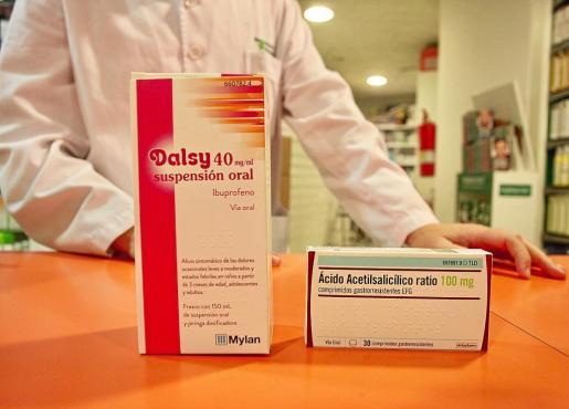 Imagen del medicamento Dalsy y del genérico de Adiro.