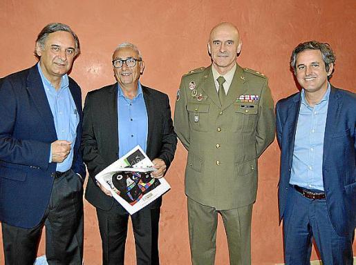 Miquel Serra, José Sanclemente, Antonio Ortiz y Pedro Rullán.