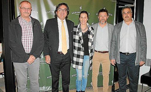 Mateu Morro, Josep Vilaseca, Esperança Nadal, Roger Gotarrodona y Juanjo López.