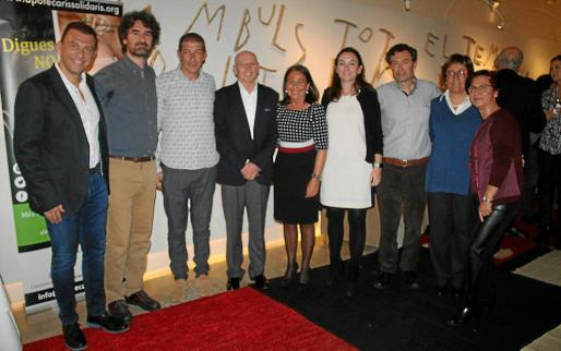 Joan Albert Segura, Pau de Vílchez , Manuel Elviro-Vidal, Mateu Tous, Marta Petit, Cristina Mataró, Tomeu Adrover, Leonor Hernández y Aina García.