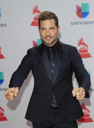 Imagen de archivo de David Bisbal en los XVIII Premios Grammy Latinos.