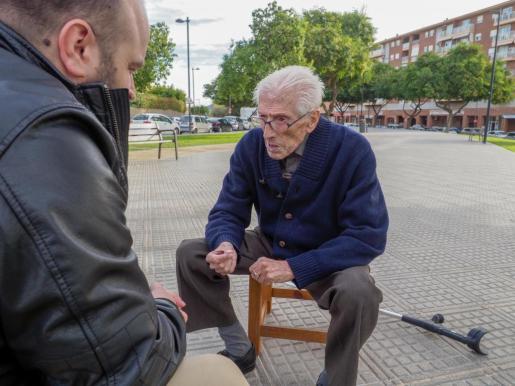 Pepe 'Serreta' viu a l'edifici Pla de Vila després de 55 anys visquent a ses Protegides.