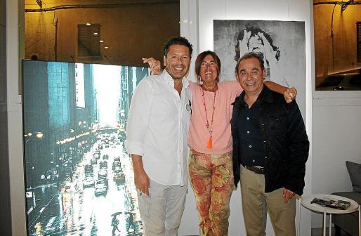 André Baumann, Uli Baumann y Óscar Fernández.