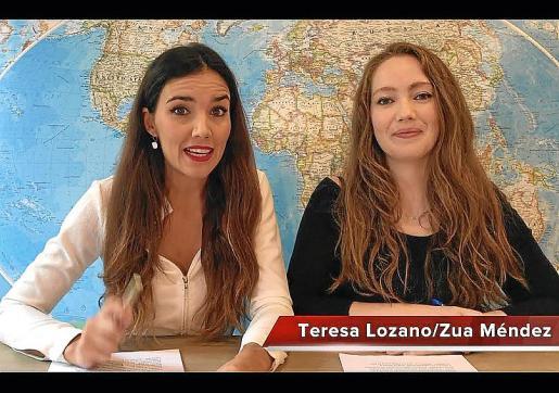Teresa Lozano y Zua Méndez son las Towanda Rebels.