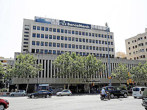 Sede central de Banca March, en las Avingudes de Palma.