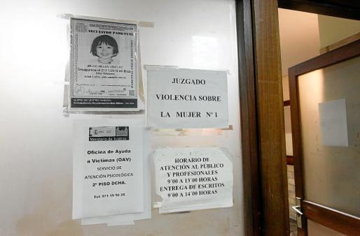 Imagen de archivo de la antesala del juzgado de Violencia sobre la Mujer de Ibiza.
